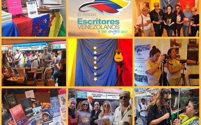 Todo listo para el Rincón de los Escritores Venezolanos y sus Amigos en Miami International Book Fair 2018