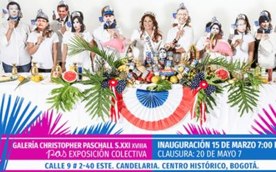 Miss Wynwood lands in Bogotá to present her presidential campaign