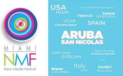 Miami New Media Festival 2018 begins its itinerary at the Aruba Art Fair, Barcú (Bogotá) and Rome