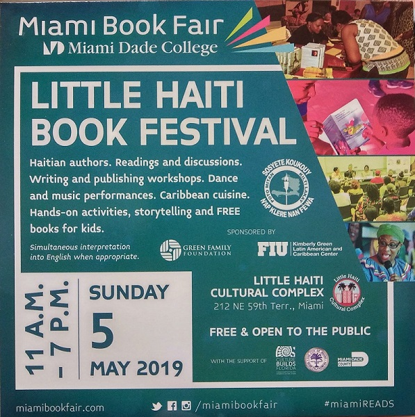 Arts Connection was at Little Haiti Book Festival